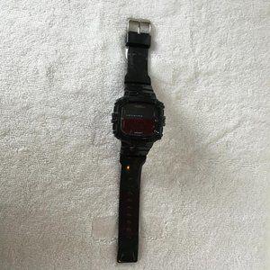 Armitron Man Watch Digital Rubber Black DM3